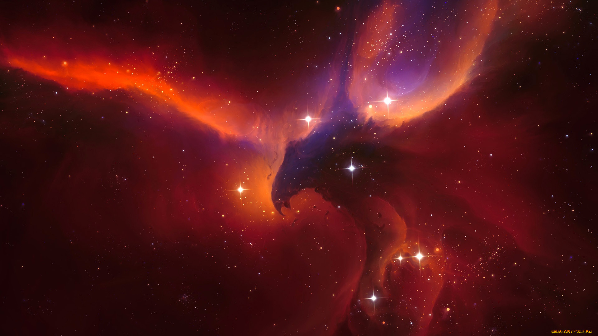 космос, галактики, туманности, phoenix, tyler, young